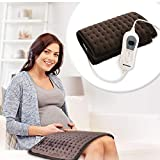 Heating Pad AREALER Electric Heating Blanket with Fast Heating, Dry & Moist Therapy