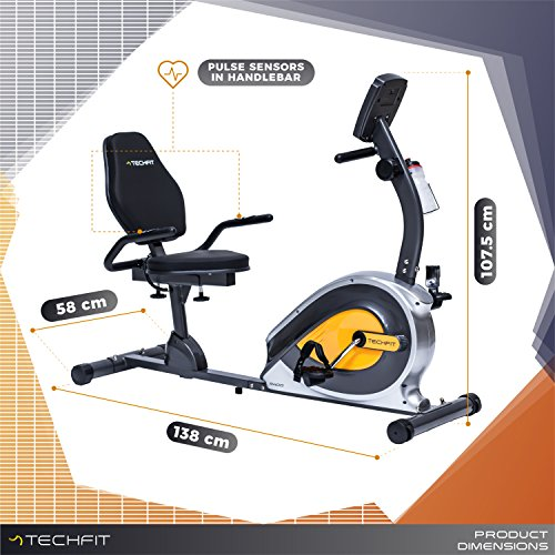 Zoom IMG-3 techfit r400 cyclette orizzontale recumbent