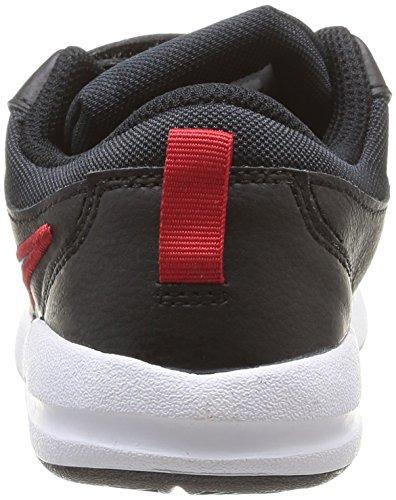Nike Pico 4 (Tdv), Chaussures premiers pas bébé garçon Noir (Black/Metallic Cool Grey/White/True Yellow)