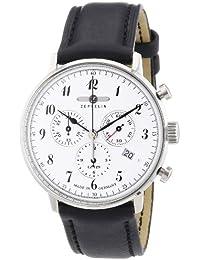 Zeppelin Herren-Armbanduhr XL LZ 129 Hindenburg Chronograph Quarz Leder 70861