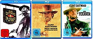 Clint Eastwood - Uncut Outlaw Western Collection - Ein Fremder ohne Namen + Pale Rider - Der namenlose Reiter + Der Texaner 3 B