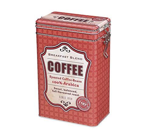 Marke Zassenhaus - Kaffeedosen, Vorratsdosen (Metall - Rot - 500g)