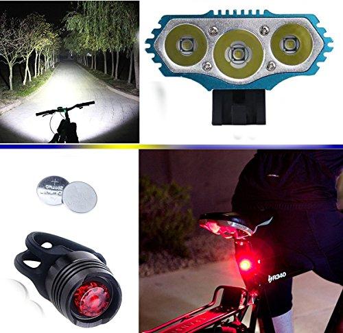 Preisvergleich Produktbild E-Fun 6000LM CREE XM-L Fahrradlampe Fahrradbeleuchtung