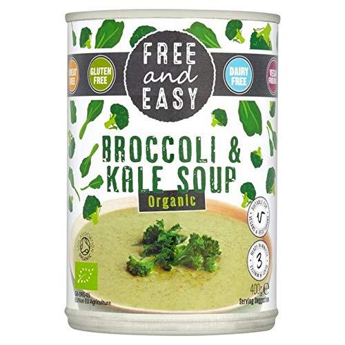 6x Free & Easy Frei Von Milch Freier Organischer Brokkoli & Kohlsuppe 400G