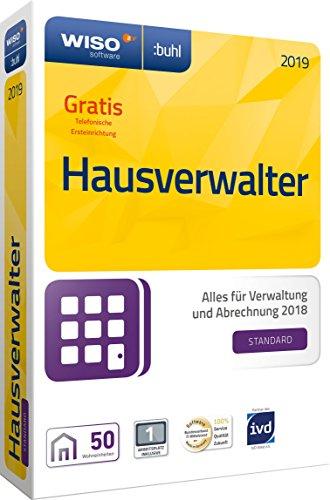 WISO Hausverwalter 2019 Standard - Die Rundum-sorglos-Lösung für kleine Hausverwaltungen und Eigentümer [CD-ROM] (Immobilien-steuer-software)