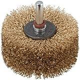 Wolfcraft 2265000 - Cepillo para estructurar madera, vástago 8 mm Ø 80 x 35 mm