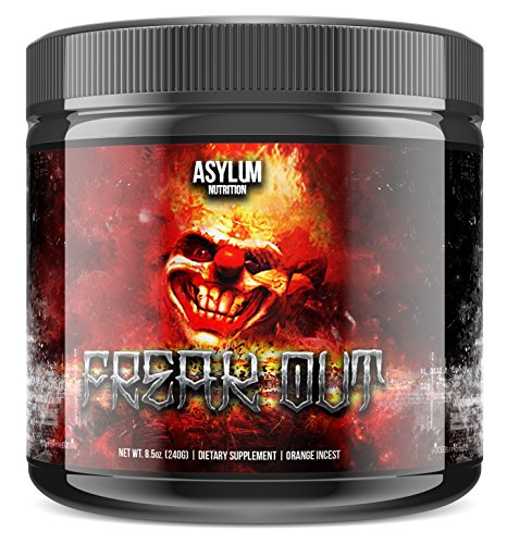 Asylum Nutrition Freak Out Pre-Workout Booster Trainingsbooster Bodybuilding 240g Strawberry-Kiwi