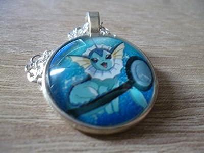 Collier cabochon Aquali - Pokemon