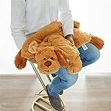 Hapti Demenz Beschäftigung für Alzheimer Patienten und Demente/Aktivierung und Geschenk Softplüsch honigbraun 60x85 cm