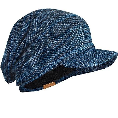 FORBUSITE - Casquette visière - Homme Taille Unique - bleu - Taille Unique
