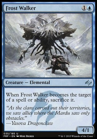 Magic the Gathering - Frost Walker - Errante del Gelo - Fate Reforged -