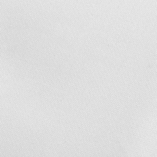 dc51ae0fd6 Utopia Bedding - Set Lenzuola Letto - Spazzolata Microfibra - (Bianca,  Piazze Francese)
