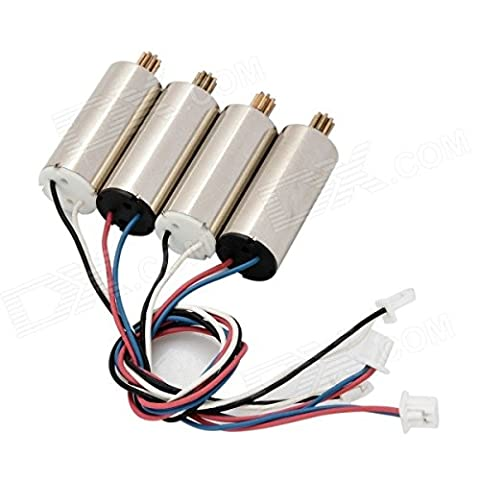 YUNIQUE FRANCE ® Spare CW / CCW Set Motor pour WLtoys V686 / 686G / 686J / 686K JJRC V686G RC Quadcopter - 4pcs / set