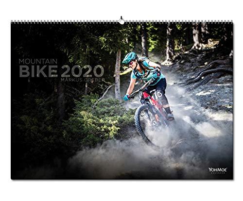 Mountainbike Kalender 2020 by Markus Greber im DIN A2 Panorama Format. Der legendäre Mountainbiking Wandkalender geht in die vierte Runde. MTB, Mountain, Bike
