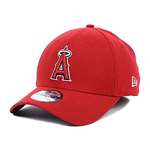 NEW ERA MLB Los Angeles Angels stretch Fit Basic Casquette Rouge