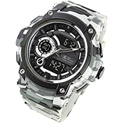 [Lad Wetter] Military Armbanduhr/Triple Time/Survival Spiel/Outdoor/100 m Wasser Widerstand