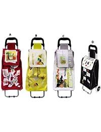 Chariot de marché design coloris : jaune (B)