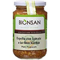 Bionsan Espelta con Tomate y Finas Hierbas - 6 Paquetes de 220 gr - Total: 1320 gr