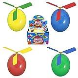 3x Ballon Helikopter Hubschrauber Luftballon Propeller Mitgebsel Kindergeburtstag