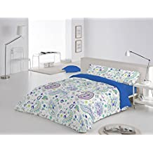 Funda Nórdica 3 piezas Beaumont cama de 150 color Rojo