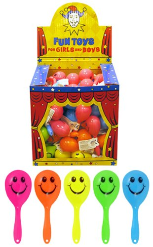 12 Assorted Novelty Maracas / Childrens Toys Kids...