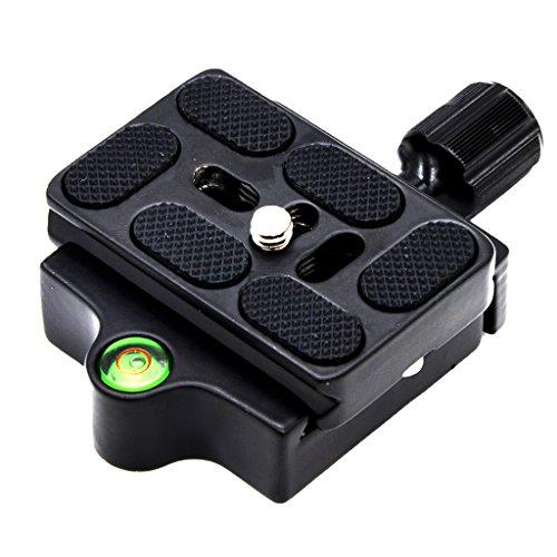 IPOTCH Clamp Schnellwechselplatte Für Monopod Ball Stativkopfadapter Arca Swiss -
