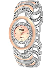 Youth Club K-01CPTT New Studded Silver Kada Look For Girls