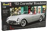 Revell–53Corvette Roadster voiture Kit de modèle en plastique