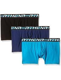 Athena Easy - Boxer - Multicolore - Lot de 3 - Homme