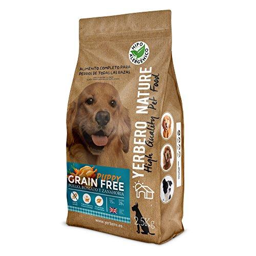 YERBERO Nature Grain Free Puppy Comida Perros Cachorros