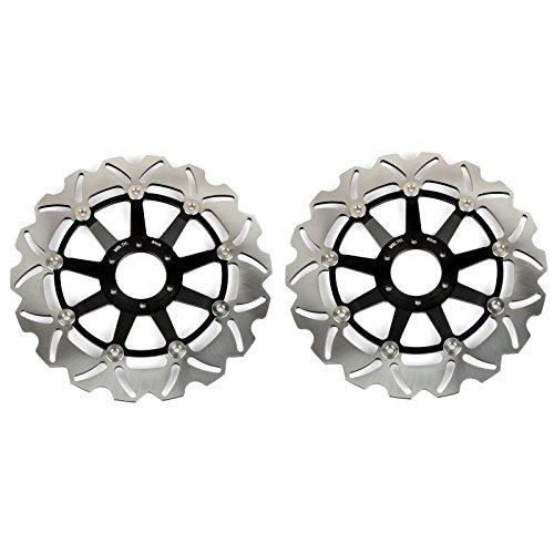 TARAZON Disques de frein avant 2 pièces pour CBR600F CBR600F3 1995 1998 CBR900RR 1994 1996 1997