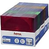 """Hama Lot de 50 boiters """"Slim"""" vides couleurs pour CD"""