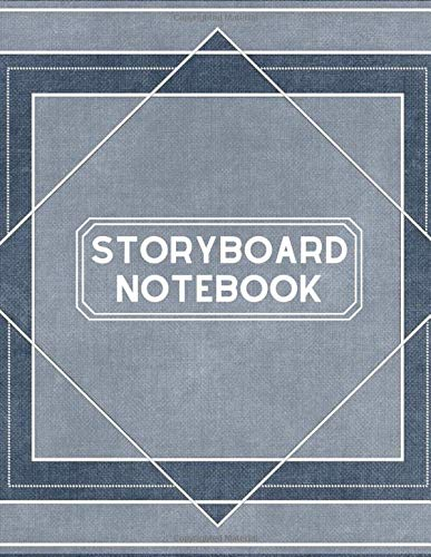 Story Board Notebook: Clapperboard and Frame Sketchbook Log Book Guide Template Panel Pages Book and 4 Frames Per Page For Movie Making Gift For Movie ... Pages (Film Writing & Sketching Log, Band 42)