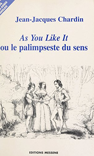 as you like it by william shakespeare 2 essay Illustration for shakespeare's as you like it by duke frederick allows senior's daughter, rosalind, to remain at court because of her inseparable friendship with his own daughter, celia the day arrives when orlando is scheduled to fight charles, and the women witness orlando's defeat of the court.