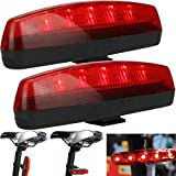 #4: New Arrival Latest Design Bicycle 5 LED 8 Modes Flashing Tail Light/Rear Lamp