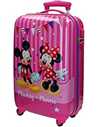 Disney Mickey & Minnie Party Equipaje Infantil, 33 Litros, Color Rosa