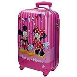 Disney Mickey & Minnie Party Valigia per Bambini, 55 cm, 33 Litri, Rosa immagine