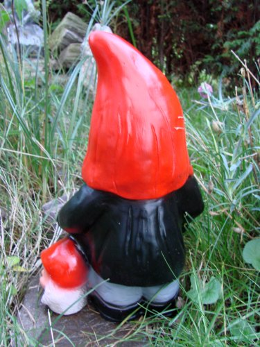 Gartenzwerg Henker aus bruchfestem PVC Zwerg Made in Germany Figur - 3