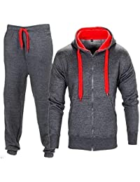 official photos a357f d9a76 FLIRTY WARDROBE Mens HNL Tracksuit Joggers Hoodie Sweatshirt Pants Sweats  Bottoms Plus