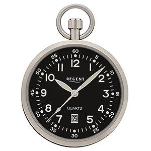 Taschenuhr 43mm Datum Regent P324