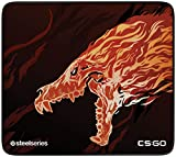 SteelSeries QcK+ Limited - Gaming-Mauspad - 450mm x 400mm x 3mm - Langlebige Nähte - Stoff - CS:GO Howl