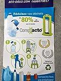 EcoGam, COMP Compacto - Compattatore per bottiglie, colore: Arancione