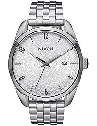 Nixon Unisex-Armbanduhr Bullet Analog Quarz Edelstahl A4182129-00