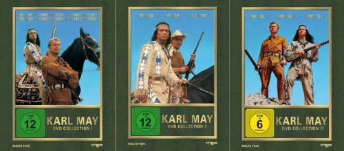 dvd winnetou 1 3 Karl May Collection 1 2 3 WINNETOU & OLD SHATTERHAND 9 DVD Box EDITION