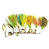 Zengkei Accesorios para cañas de Pesca Tackle Rubber Jig Soft Fishing Lure Accesorios de Pesca
