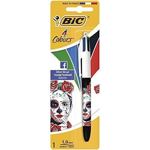 BIC Design For You-Penna a sfera, set di 4, colori assortiti