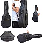 Full Sized Padded Guitar Carry Case - acoustic-guitar-cases, musician-bags