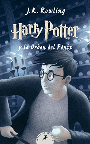 Harry Potter Orden Fénix Letras Bolsillo