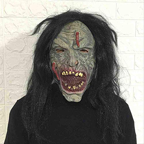 Monster Beängstigend - ZFBMY Halloween Gesicht Longbug Horror Maske