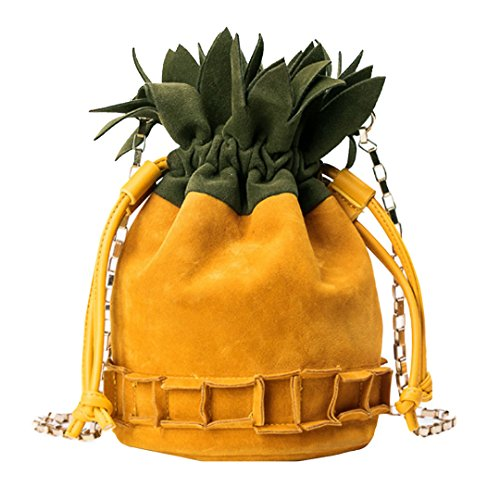 Meliya, Borsa a tracolla donna, Yellow (Giallo) - bb-01557-01YA Yellow